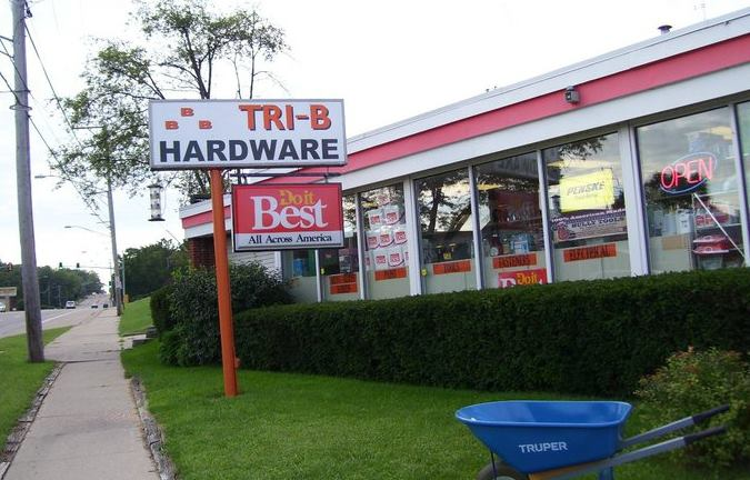 TRI B HARDWARE AND SUPPLY